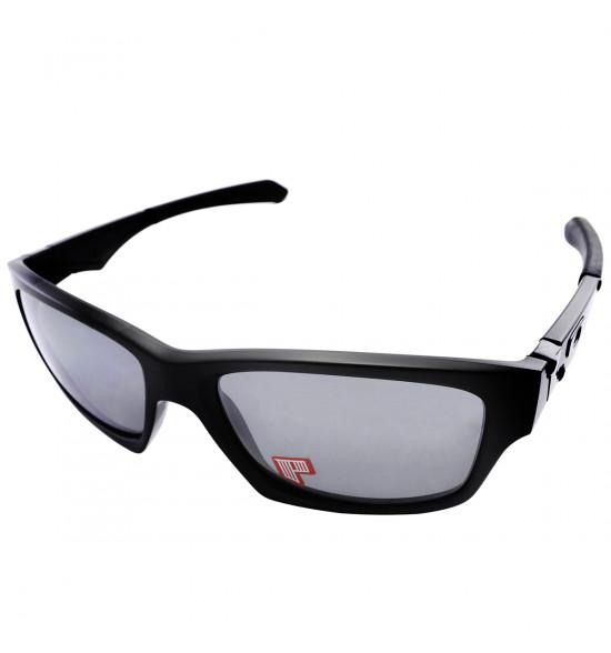 Óculos Oakley Jupiter Squared Matte Black/ Black Iridium Polarizado