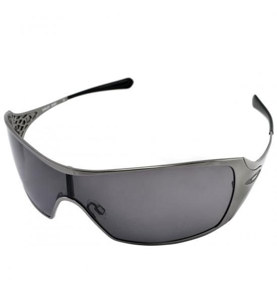 ba1394b3d6 Óculos Oakley Dart Black Chrome W/Warm Grey ref 05-664