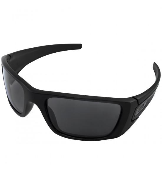 0b862f2cff4f4 Óculos Oakley Fuel Cell Matte Black Lente Grey Polarizado ref OO9096-05