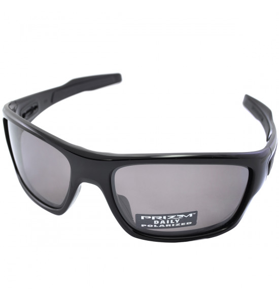 f51a0c703a555 Óculos Oakley Turbine Polished Black Lente Prizm Daily Polarizado ...