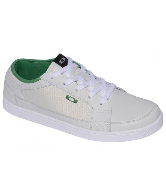 Tênis Oakley Westcliff Branco Com Verde ref 13169-180 3ec155820ed