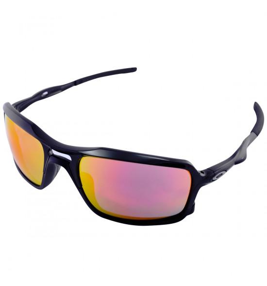 74dd59048 Óculos Oakley Triggerman Black/Lente Ruby Iridium ref OO9266-03