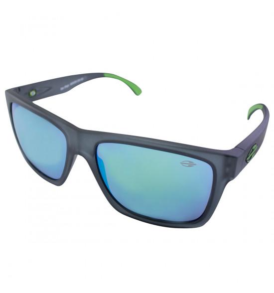 Óculos Mormaii San Diego Chumbo Fosco/ Lente Verde Espelhada