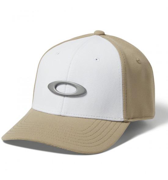 Boné Oakley Tincan Cap Rye Khaki com Branco ref 911545-30W 33f52fe9631