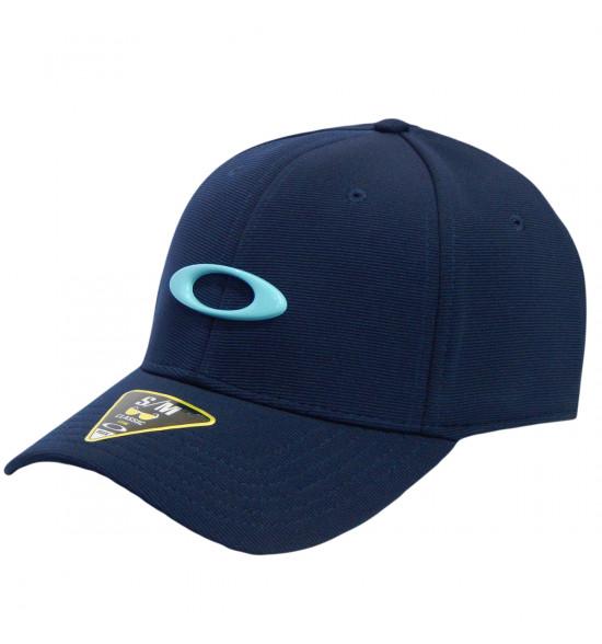 Boné Oakley Tincan Cap Fathom com Logo Azul Bebe ref 911545-6AC f24a0e51a05