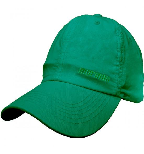 Boné Mormaii Basic Verde Com Bordado Verde Agua