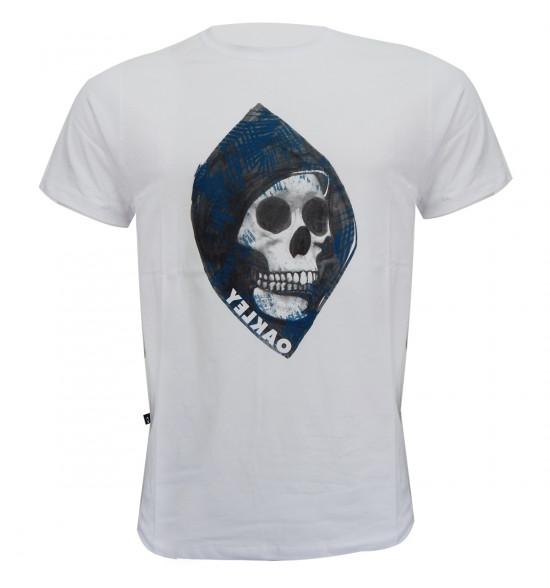 Camiseta Oakley Fearful California Branco