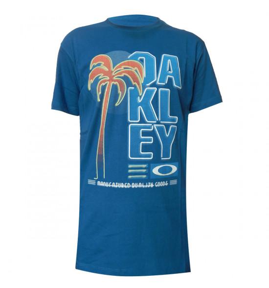 Camiseta Oakley Neon Tee Azul