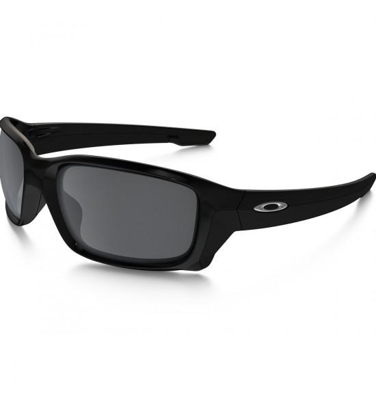 74dfdc392c519 Óculos Oakley Straightlink Polished Black   Lente Black Iridium ref ...