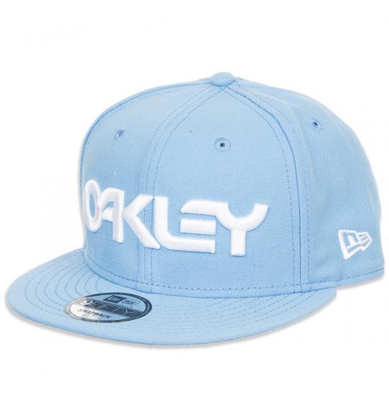 Boné Oakley Mark II Novelty Snapback Azul Bebe