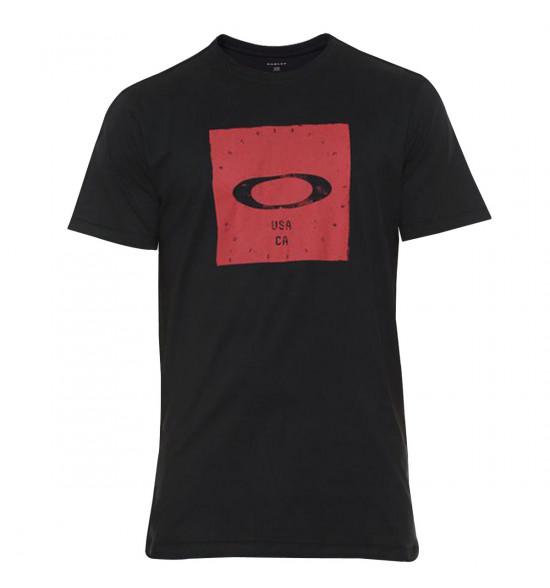 Camiseta Oakley Bolded Elipse Tee Blackout