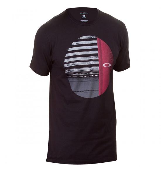 Camiseta Oakley Disrupted Ellipse Tee Preto