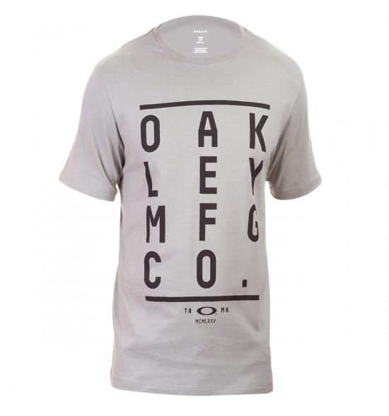 Camiseta Oakley Kerning Tee Cinza
