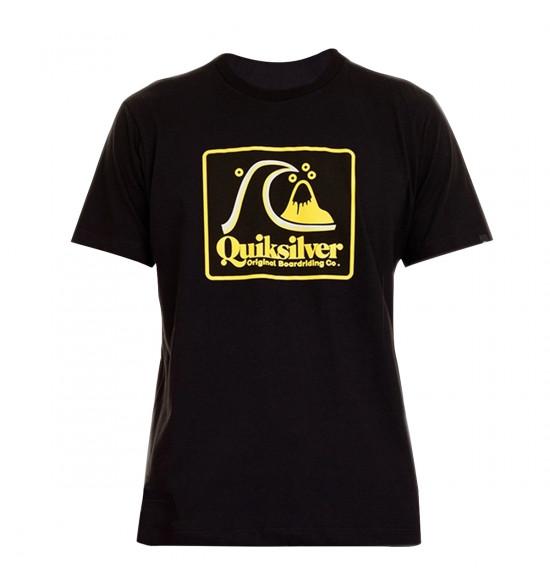 Camiseta Quiksilver Beach Tones Preto