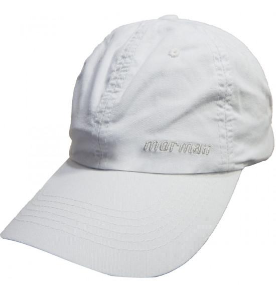 Boné Mormaii Basic Branco Com Bordado Branco
