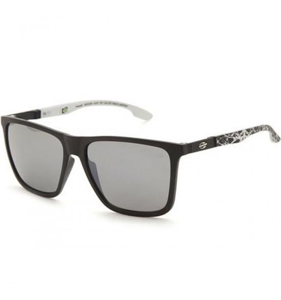 Óculos Mormaii Hawaii Preto Fosco/ Lente Cinza