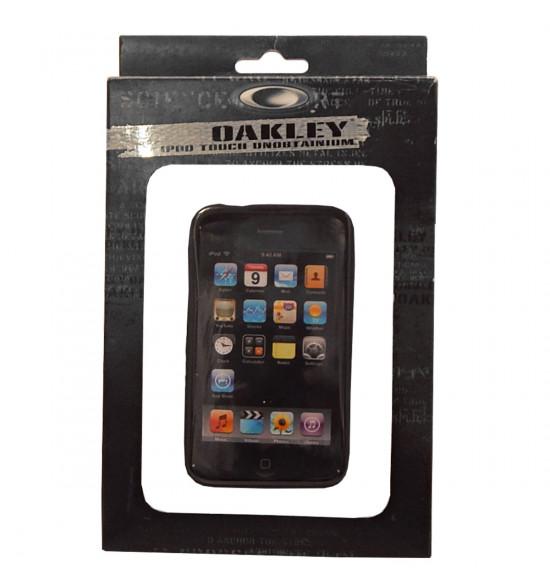 Capa para Ipod Oakley Preta - Ipod Touch Unobitainium Case