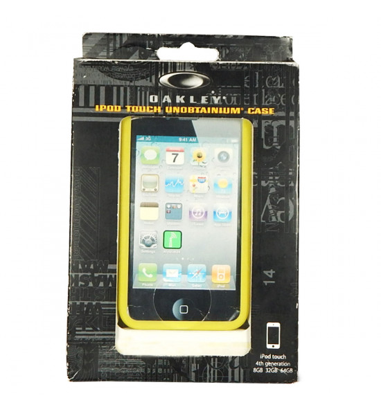 Capa para Ipod Oakley Lemon Amarelo - Ipod Touch Unobitainium Case