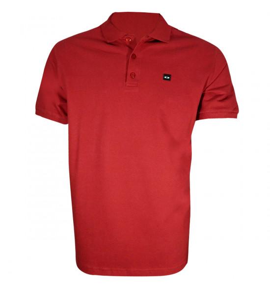 Camisa Polo Oakley Essential Bordo PROMOÇÃO Ultima Peça tam G