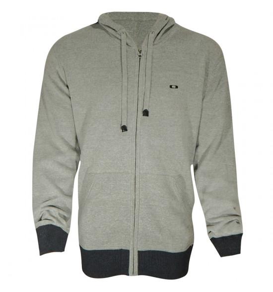O Tricot Oakley C Block Sweater Cinza LANÇAMENTO