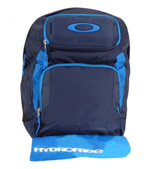 Mochila Oakley Works Pack 35L Azul Storm A Prova Dagua PROMOÇÃO