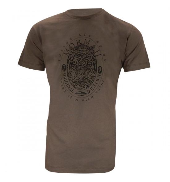 Camiseta Mormaii Wild Thing Marrom LANÇAMENTO