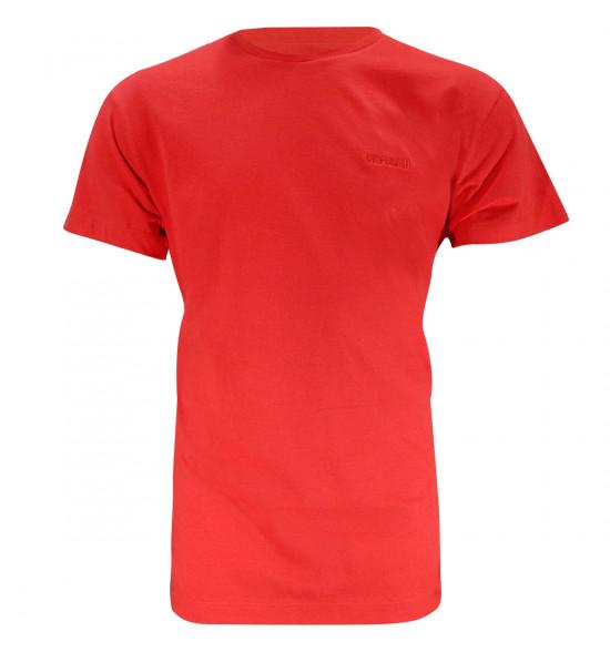 Camiseta Mormaii Logo Bordado Vermelha