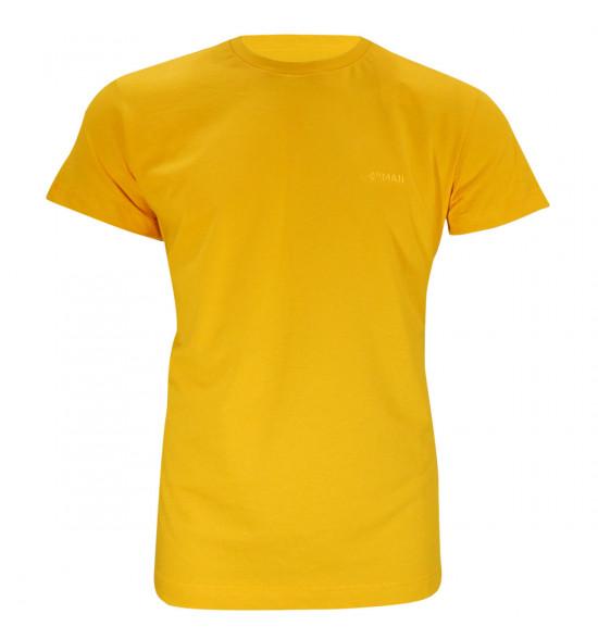 Camiseta Mormaii Logo Bordado Amarela