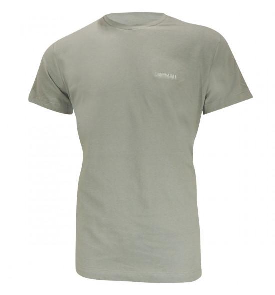 Camiseta Mormaii Logo Bordado CInza LIQUIDAÇÃO