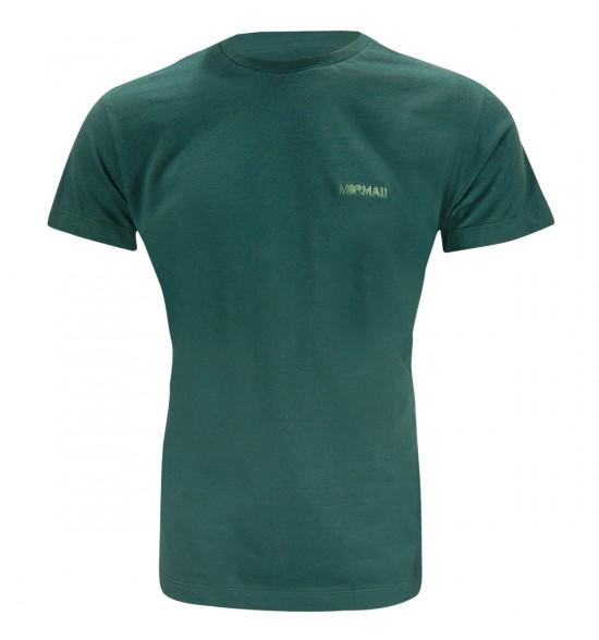 Camiseta Mormaii Logo Bordado Verde Militar LIQUIDAÇÃO VERÃO