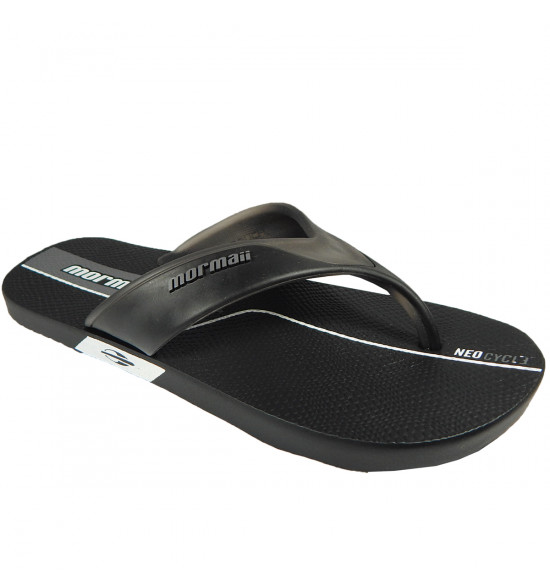 Chinelo Mormaii NeoCycle 2.0 Preto com Cinza