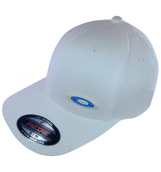 Boné Oakley Interchange Troca de Logo Branco PROMOÇAO