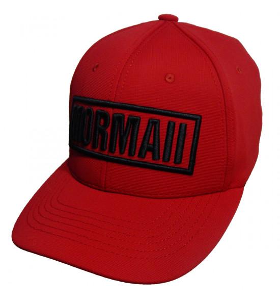 Boné Mormaii FlexCap LogoType Vermelho