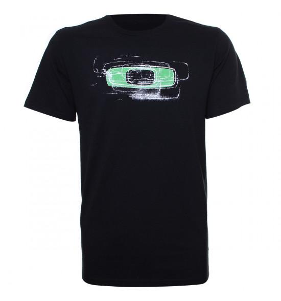 Camiseta Oakley Nimble Squared O Tee Preta LANÇAMENTO