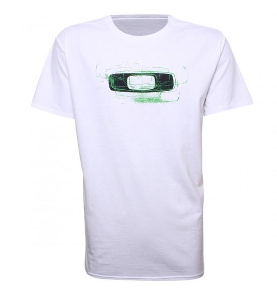 Camiseta Oakley Nimble Squared O Tee Branca LIQUIDAÇÃO VERÃO