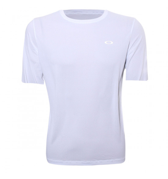 Camiseta Oakley Fitness Wind 2.0 Branca PROMOÇAO