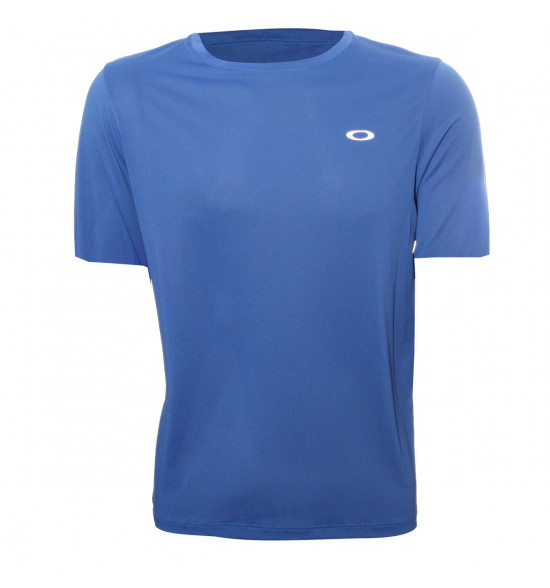 Camiseta Oakley Fitness Wind 2.0 Azul PROMOÇAO