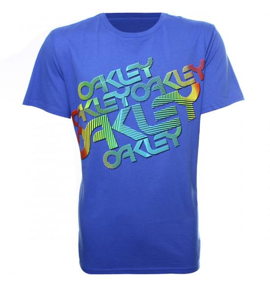 Camiseta Oakley Color Stamp Azul LIQUIDAÇÃO VERÃO