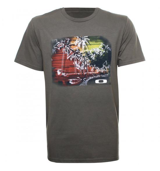 Camiseta Oakley Differ Tee Verde LIQUIDAÇÃO VERÃO