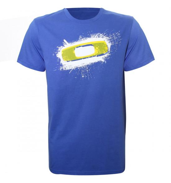 Camiseta Oakley Splash Squared O Azul LIQUIDAÇÃO VERÃO