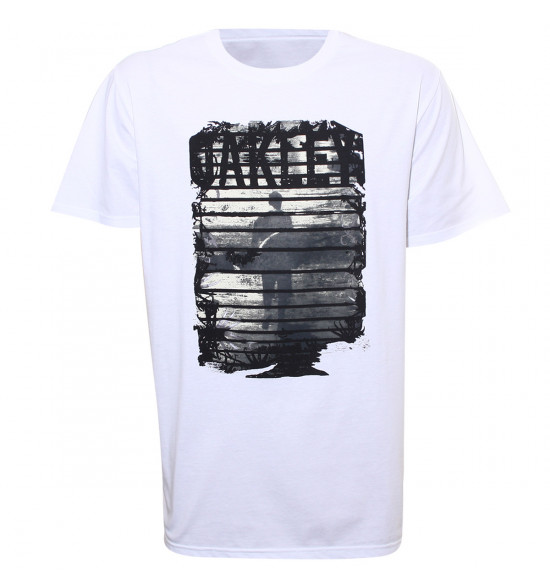 Camiseta Oakley Maverick Tee Branca LIQUIDAÇÃO VERÃO