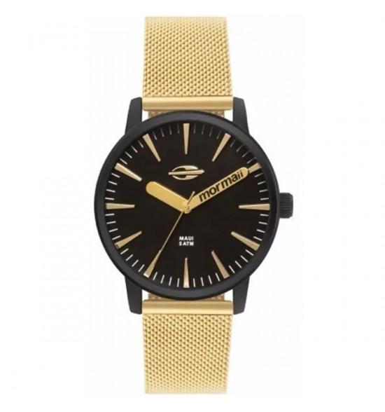 Relógio Mormaii Blade Black Gold
