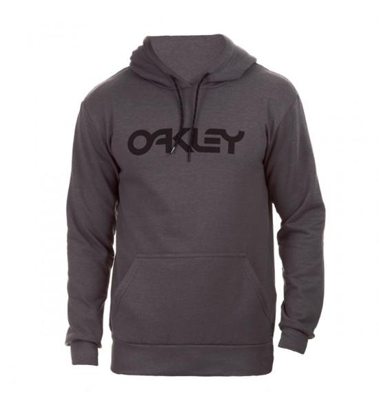 Moletom Oakley Mark Pullover B1B Cinza Black Sign