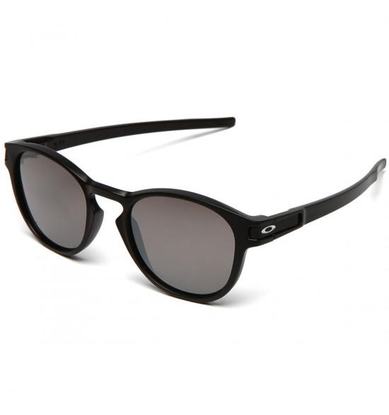 Óculos Oakley Latch Matte Black/ Lente Prizm Black Iridium