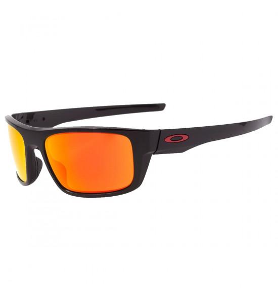 Óculos Oakley Drop Point Polished Black/ Lente Prizm Ruby