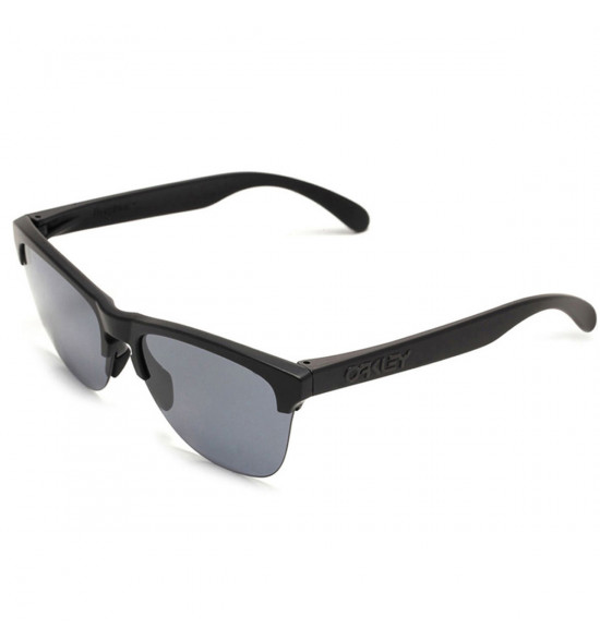 Óculos Oakley Frogskins Lite Matte Black/ Lente Grey