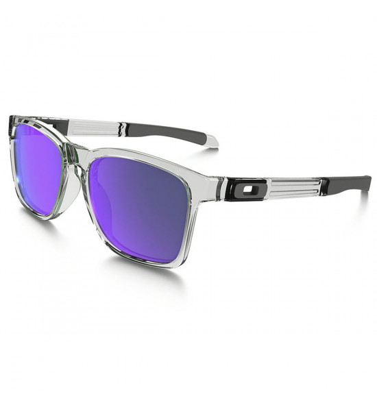 Óculos Oakley Catalyst Polished Clear/Lente Violet Iridium