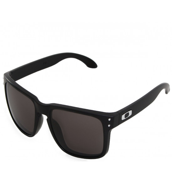 Óculos Oakley Holbrook Matte Black/Lente Warm Grey
