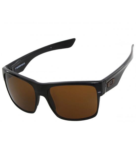 151124b45b Óculos Oakley TwoFace Polished Black Dark Bronze ref OO9189-03