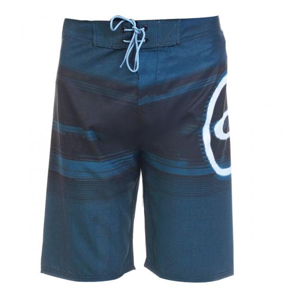 Bermuda Água Oakley Blended Boardshort Azul com Preto